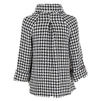 Darling Women-apos;s Dogtooth Check Karmen Manteau