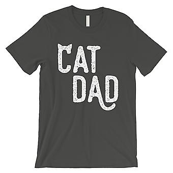 Cat Dad Mens Cool Grey Loyal Caring Sweet Fathers Day Shirt Gift