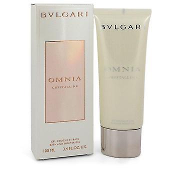 Omnia Crystalline Shower Gel By Bvlgari   548138 100 ml