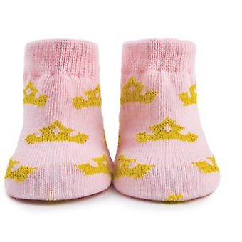 Princess Trumpette Socks 0-12 months, Boxed Set of 6