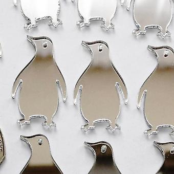 Пингвин мини-Крафт размера акриловые зеркала (10Pk)