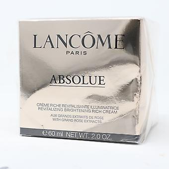 Lancome Absolue Revitalizing Brightening Rich Cream 2oz/60ml New With Box