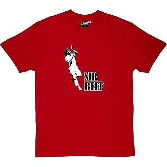 Ian Botham 'quot;Sir Beef'quot; Red Men'apos;s T-Shirt