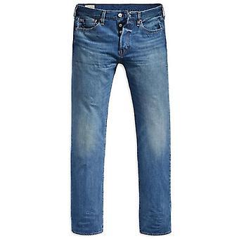 Levi's 501 Bubbles St Blue Washed Denim Jeans 00501 2700