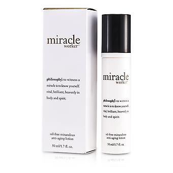 Miracle työntekijä öljy vapaa ihmeellinen anti ikääntyminen voide 169304 50ml / 1.7oz