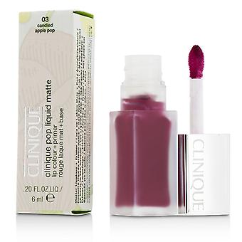 Pop Liquid Matte Lip Colour + Primer - # 03 Candied Apple Pop 6ml/0.2oz