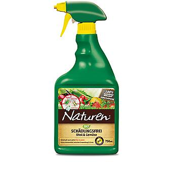 SUBSTRAL® Natural® Organic Pest Free Fruit & Vihannekset AF, 750 ml
