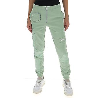 Heron Preston Hwch001r208960034401 Women's Green Cotton Joggers