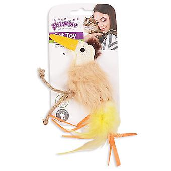 Pawise Toys Hi-Pile Cats Ostrich (Cats , Toys , Plush & Feather Toys)