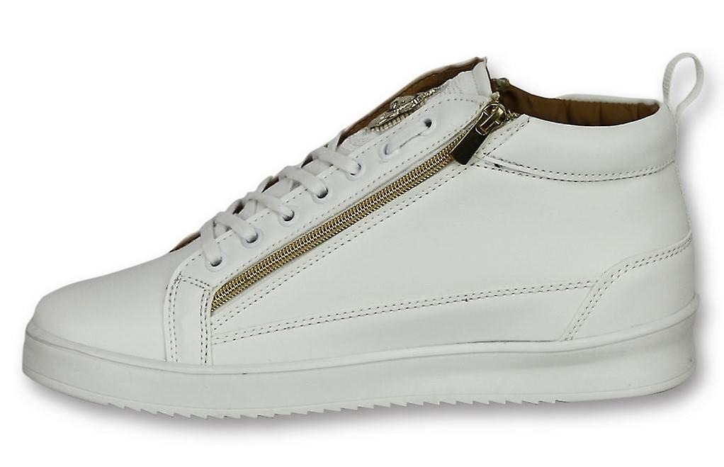 Chaussures - Sneaker Bee White Gold Blanc