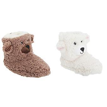 子供/子供のプルタブ クマ デザイン靴ブーツ