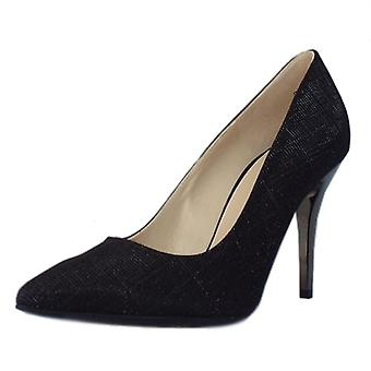 Peter Kaiser Atena Stiletto tuomioistuin kenkä musta shimmer