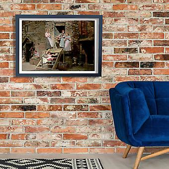 Winslow Homer - Sparrow Hall Poster Print Giclee