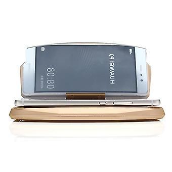 Universal hud head up display car gps navigation image reflector holder for iphone mobile phone (gold)