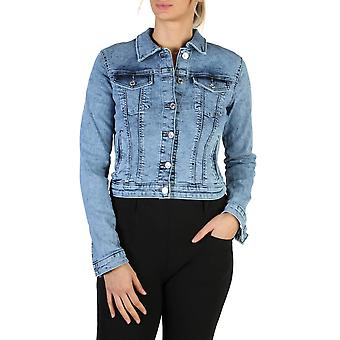 Guess Original Women All Year Jacket - Blue Color 38100
