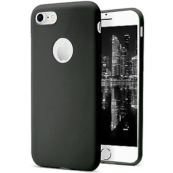 Shell pour Apple iPhone 7/8 Black TPU Protection Case