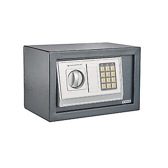 Secure Electronic Digital Steel Safe Home Office Cash Safety Deposit Box (8.5L)