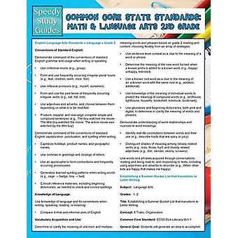 Common Core State Standards  Math And Language Arts 2nd Grade Speedy Study Guides by Publishing LLC & Speedy