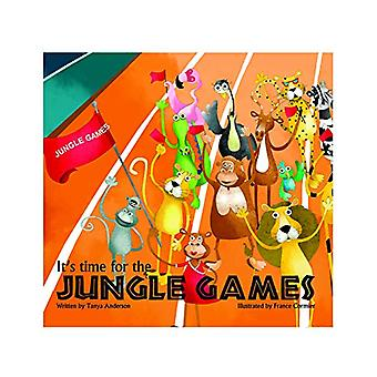 It's Time for The Jungle Games - Story Book by Tanya Anderson - 978938