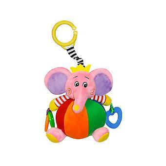 Lorelli bebé cuddly juguete elefante 21 cm felpa mordiendo anillos gripping espejo C anillo