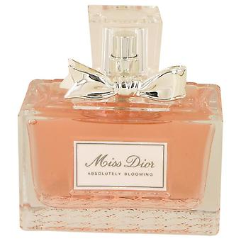Miss Dior Absolutely Blooming Eau De Parfum Spray (Tester) By Christian Dior 3.4 oz Eau De Parfum Spray