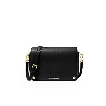 MICHAEL KORS JET SET BLACK CROSSBODY BAG