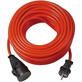 Brennenstuhl 1161950 Current Cable extension 16 A Orange 10.00 m suitable for outdoor use