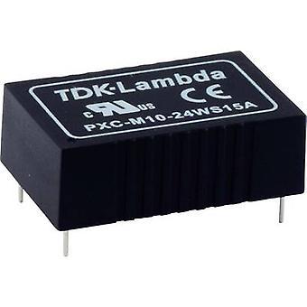 TDK-Lambda PXC-M06-48WS-12 DC/DC-muunnin (tulostus) 12 V 500 mA