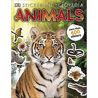 Sticker Encyclopedia Animals by DK - 9780241412145 Book