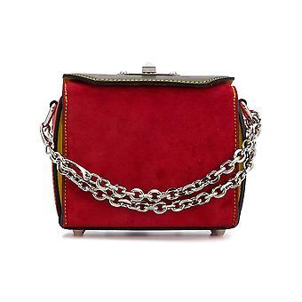 Alexander Mcqueen 479767dzryi8490 Women's Multicolor Leather Shoulder Bag