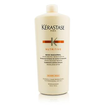 Nutritive bain magistral fundamental nutrition shampoo (severely dried out hair) 208135 1000ml/33.8oz
