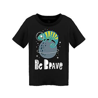 Chameleon Be Brave Tee Toddler's -Image by Shutterstock