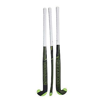 Kookaburra Strike M-Bow Junior Kids Field Hockey Stick Green/Black