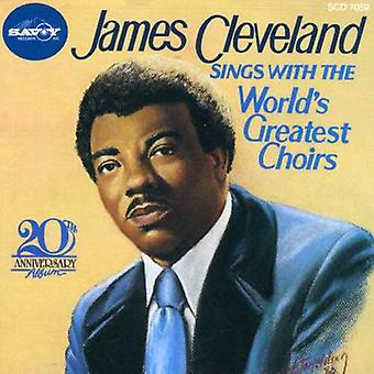 Rev. James Cleveland - Sings with the World's Greates [CD] USA import