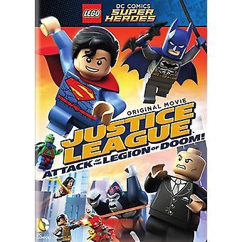 LEGO Dc Super Heroes: Justice League - attaque d'importation [DVD] é.-u.