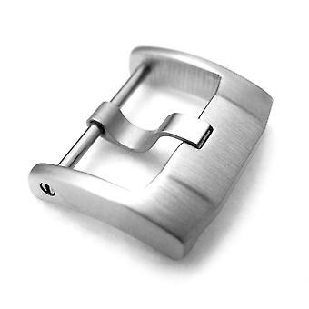 حزام ووتش مشبك ووتش 18mm، 20mm، 22mm أعلى جودة الفولاذ المقاوم للصدأ 316l المسمار في مشبك نمط iwc، فرشاة