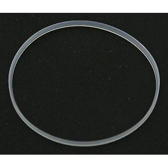 Watch part made by w&cp for breitling replica glass gasket Ø43.80 x 1.85mm, breitling navitimer world