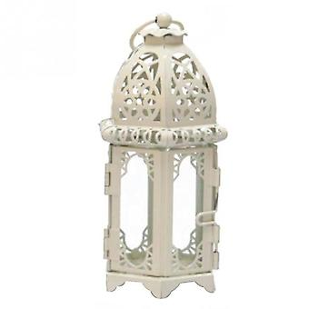 Vintage Moroccan Windproof Candle Holders - Hanging Candle Lantern Iron Glass -
