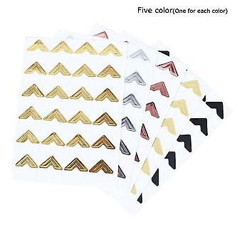 120 Pcs Kraft Paper Stickers for Photo Albums