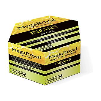 Mega Royal Jelly Infans 20 ampoules of 15ml