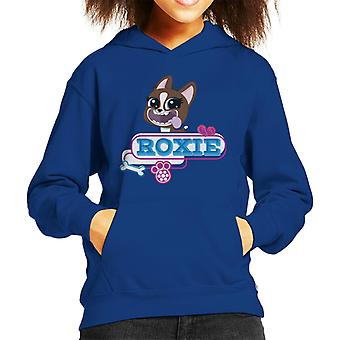 Littlest Pet Shop Roxie Tongue Hanging Out Kid's Hooded Sweatshirt