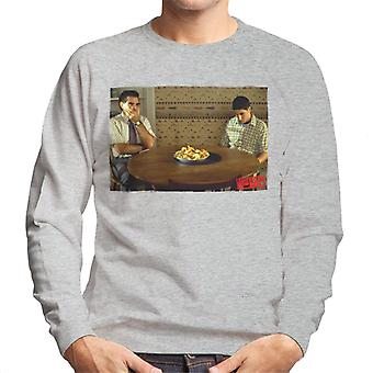 American Pie On The Table Men's Sweatshirt