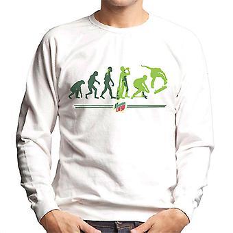 Mountain Dew Evolution Of A Skater Men's Sweatshirt