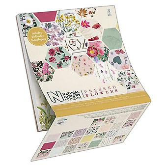 Papermania Pressed Flowers 12x12 Inch Paper Pad