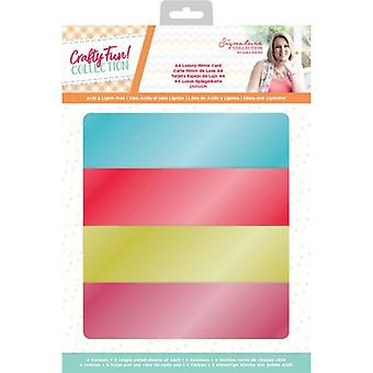 Crafter's Companion Crafty Fun A4 Luxury Mirror Card