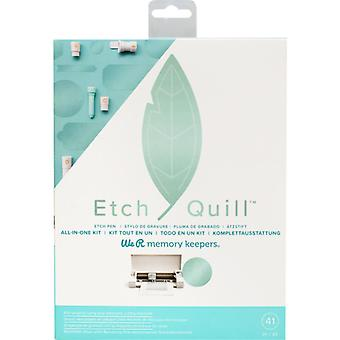 We R Memory Keepers Etch Quill All-in-One Kit