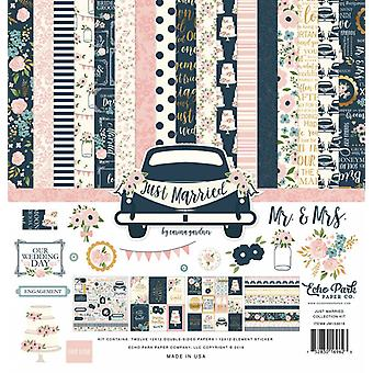 Echo Park net getrouwd 12x12 Inch Collection Kit