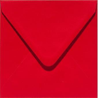 Papicolor 6X Envelope 140X140mm Rouge