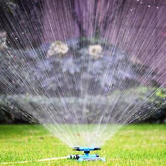 360 Degree Automatic Garden Sprinklers Watering Grass Lawn Rotary Nozzle