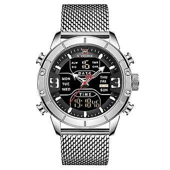 Men's casual mesh belt watch